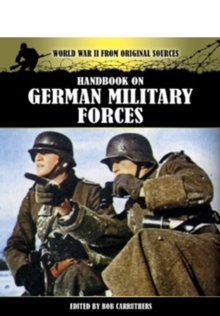 Handbook on German Military Forces, Paperback Book
