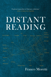 Distant Reading, Paperback Book