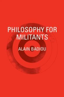 Philosophy for Militants, EPUB eBook