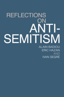Reflections on Anti-Semitism, EPUB eBook