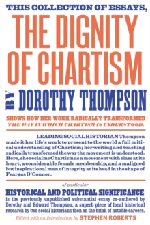 The Dignity of Chartism, Paperback Book