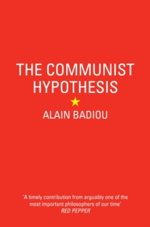 The Communist Hypothesis, Paperback / softback Book