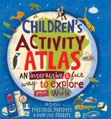 Children's Activity Atlas, Hardback Book