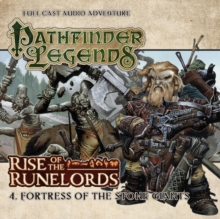 Rise of the Runelords: Fortress of the Stone Giants, CD-Audio Book