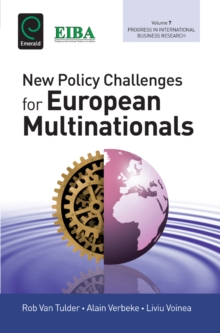 New Policy Challenges For European Multinationals, Hardback Book