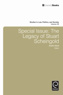 Special Issue : The Legacy of Stuart Scheingold, Hardback Book