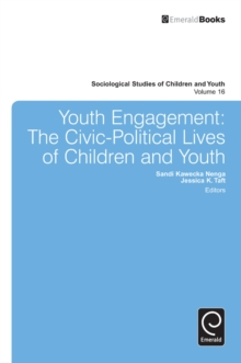 Youth Engagement : The Civic-Political Lives of Children and Youth, Hardback Book