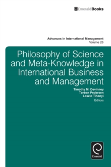 Philosophy of Science and Meta-Knowledge in International Business and Management, Hardback Book