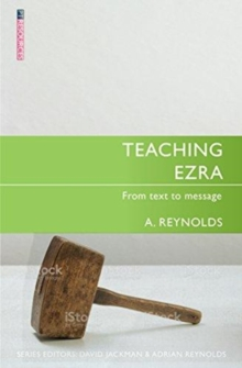 Teaching Ezra : From Text to Message, Paperback Book