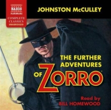 The Further Adventures of Zorro, CD-Audio Book