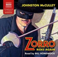 Zorro Rides Again, CD-Audio Book
