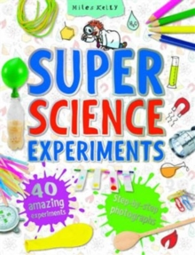 SUPER SCIENCE EXPERIMENTS, Paperback Book