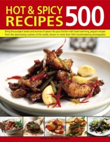 500 Hot & Spicy Recipes, Paperback / softback Book