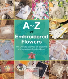 A-Z of Embroidered Flowers, Paperback Book