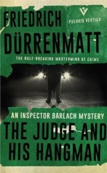 The Judge and His Hangman, Paperback / softback Book