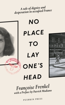No Place to Lay One's Head, Hardback Book