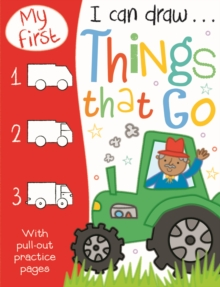My First I Can Draw... Things That Go, Paperback Book