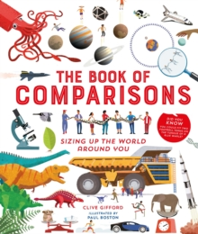 The Book of Comparisons : Sizing up the world around you, Hardback Book