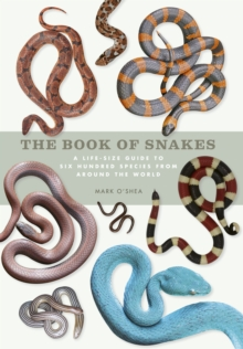 The Book of Snakes : A life-size guide to six hundred species from around the world, Hardback Book