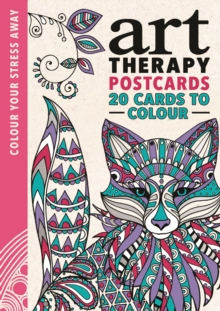 Art Therapy Postcards, Postcard book or pack Book