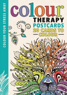 Colour Therapy Postcards, Postcard book or pack Book