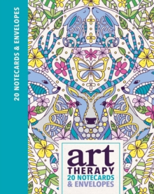 Art Therapy Notecards, Postcard book or pack Book