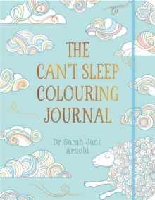 The Can't Sleep Colouring Journal, Paperback Book