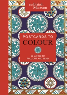 Treasures of the British Museum : 20 Cards to Colour and Send, Postcard book or pack Book