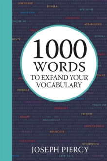 1000 Words to Expand Your Vocabulary, Hardback Book