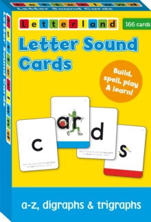 Letter Sound Cards, Cards Book