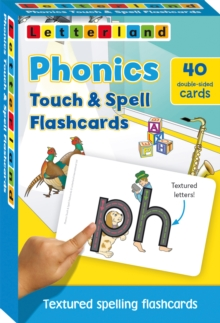 Phonics touch & spell flashcards: Graad R, Cards Book