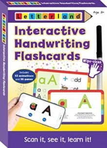 Interactive Handwriting Flashcards, Cards Book