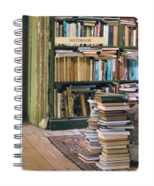 At Home with Books Medium Spiral Notebook, Notebook / blank book Book