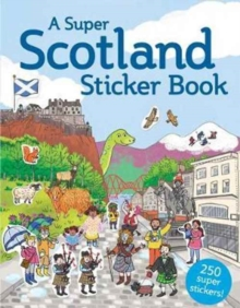 A Super Scotland Sticker Book, Paperback Book