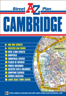 Cambridge Street Plan, Sheet map, folded Book