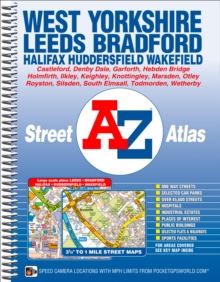 West Yorkshire Street Atlas, Spiral bound Book