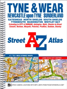 Tyne & Wear Street Atlas, Spiral bound Book