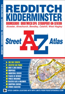 Redditch Street Atlas, Paperback / softback Book