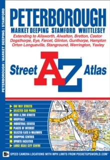 Peterborough Street Atlas, Paperback Book