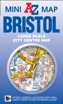 Bristol Mini Map, Sheet map, folded Book