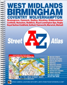 West Midlands Street Atlas, Spiral bound Book