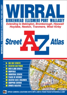 Wirral Street Atlas, Paperback / softback Book