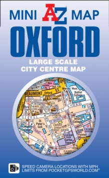 Oxford Mini Map, Sheet map, folded Book