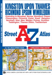 Kingston Upon Thames & Richmond Street Atlas, Paperback Book