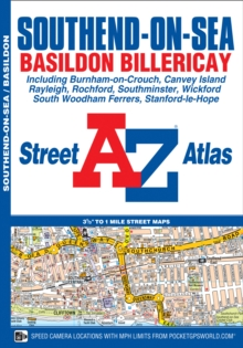 Southend-On-Sea Street Atlas, Paperback / softback Book
