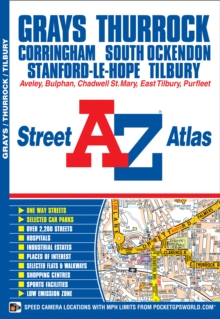 Grays & Thurrock Street Atlas, Paperback Book