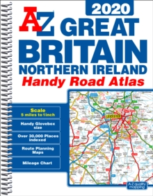 Great Britain Handy Road Atlas 2020 (A5 Spiral), Spiral bound Book
