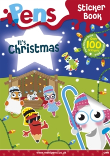Pens Sticker Book: it's Christmas, Paperback Book