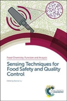 Sensing Techniques for Food Safety and Quality Control, Hardback Book