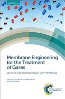 Membrane Engineering for the Treatment of Gases : Volume 1: Gas-separation Issues with Membranes, Hardback Book